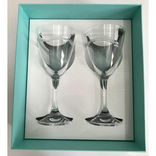 Tiffany & Co. - 新品未使用品✩.*˚ティファニー ワイングラス ペア