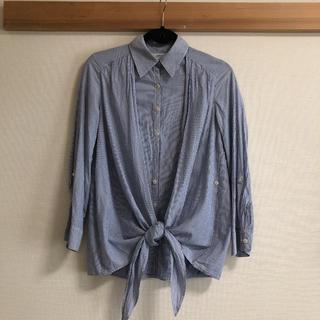 アッシュペーフランス(H.P.FRANCE)のSRIC ストライプシャツ(シャツ/ブラウス(長袖/七分))