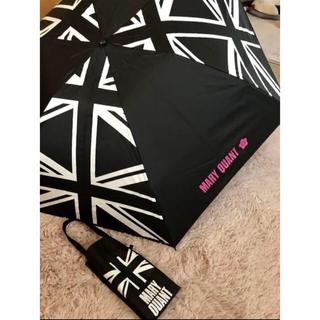 マリークワント(MARY QUANT)の【マリクワ】新品未使用✨晴雨兼用 折り畳み傘 カバー付き(傘)