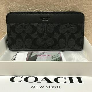 COACH - 新品未使用コーチCOACH 長財布F75000