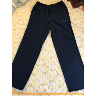 UNDER ARMOUR - アンダーアーマー  クロスジャージ  ネイビー Mサイズ 薄手パンツ