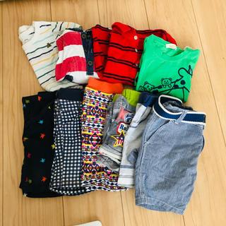 男の子 80サイズ 半袖半ズボン 10点セット ユニクロ GAP H&M