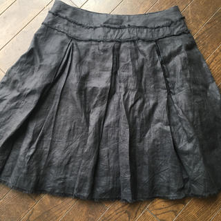 アドルフ(Adolf)のアドルフォ  ドミンゲス麻 スカート(ひざ丈スカート)