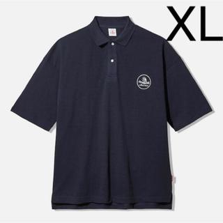 ジーユー(GU)のstudio seven ビッグポロ 5分袖 XL スタジオセブン GU(ポロシャツ)
