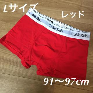 Calvin Klein - カルバンクライン  ボクサーパンツ  Lサイズ 赤