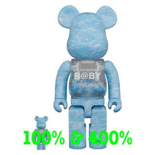 メディコムトイ(MEDICOM TOY)のMY FIRST BE@RBRICK B@BY WATER CREST 400%(その他)