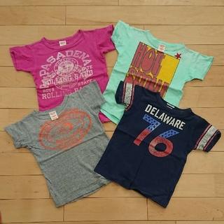 デニムダンガリー(DENIM DUNGAREE)のDENIM DUNGAREE 120 Tシャツ セット(Tシャツ/カットソー)