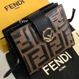 FENDI - FENDI、フェンディ、折財布、財布、ウォレット、サイフ、さいふ、ミニ財布