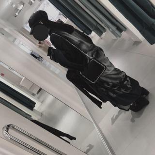 ヨウジヤマモト(Yohji Yamamoto)のYohji Yamamoto 拒食と自爆 同形マント 無地(その他)