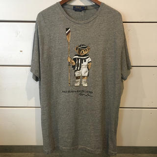 POLO RALPH LAUREN - タグ付き 新品 ラルフ ローレン Tシャツ グレー L 送料無料