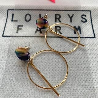 LOWRYS FARM - 【未使用】ROWRYS FARM フープピアス