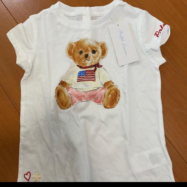 Ralph Lauren(ラルフローレン)のラルフローレン ポロベアー Tシャツ 90cm キッズ/ベビー/マタニティのキッズ服女の子用(90cm~)(Tシャツ/カットソー)の商品写真