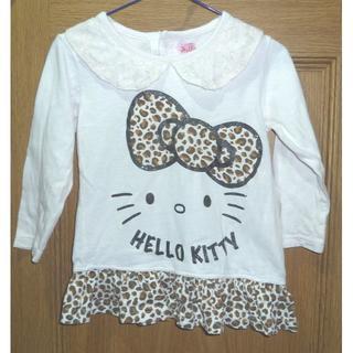 ハローキティ(ハローキティ)のサンリオ ハローキティのTシャツ(長袖) サイズ95 <c310>(Tシャツ/カットソー)