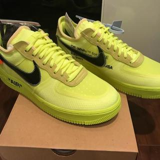 OFF-WHITE - 27.5cm OFF-WHITE NIKE AIR FORCE 1 LOW