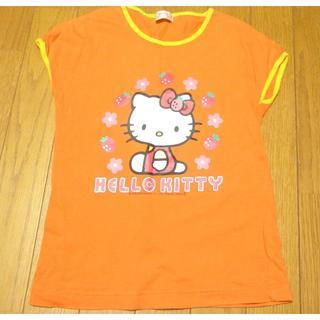 ハローキティ(ハローキティ)のサンリオ ハローキティ Tシャツ サイズ130 <d192>(Tシャツ/カットソー)