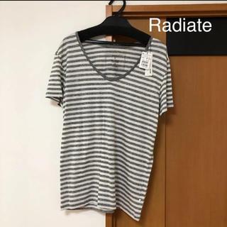 スコットクラブ(SCOT CLUB)のRadiate 新品 ボーダーTシャツ(Tシャツ(半袖/袖なし))