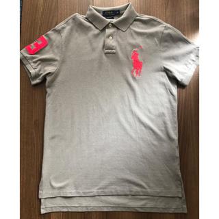 POLO RALPH LAUREN - 美品 ポロラルフローレン ピッグポニー ポロシャツ グレー