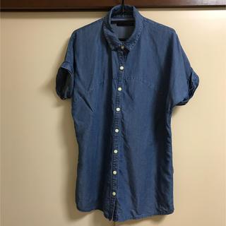 ヘザー(heather)の☆Heather☆デニムビッグシャツ(シャツ/ブラウス(半袖/袖なし))