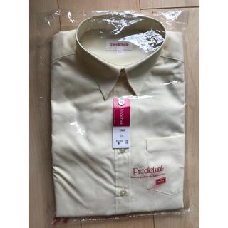 スーツカンパニー(THE SUIT COMPANY)の新品  predichant 制服 半袖シャツ クリーム色(スーツ)