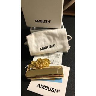 AMBUSH アンブッシュライターケース ネックレス ゴールド(その他)