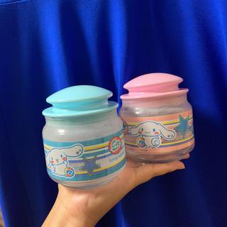 サンリオ(サンリオ)の新品未使用 シナモン ガラスキャニスター 2個セット 容器 ビン キャニスター(容器)