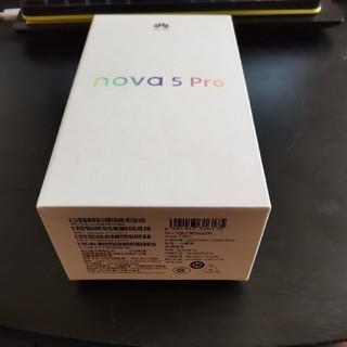 ANDROID - みんと様専用nova 5 pro 128g simフリーAndroid10 紫