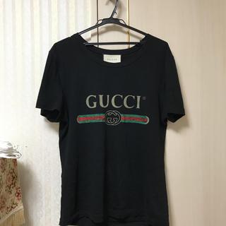 グッチ(Gucci)のGUCCI 定番ロゴTシャツ(Tシャツ/カットソー(半袖/袖なし))