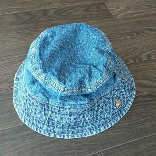 ベビーギャップ(babyGAP)のbaby GAP 帽子 ハット 子ども ベビー 男の子 女の子 男女兼用 デニム(帽子)