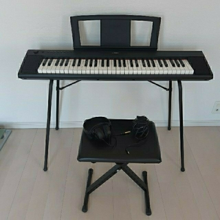 ヤマハ(ヤマハ)のYAMAHA 電子キーボード 6点セット(電子ピアノ)