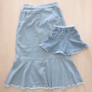 プティマイン(petit main)のpetit main スカート セット ペアルック リンクコーデ(スカート)