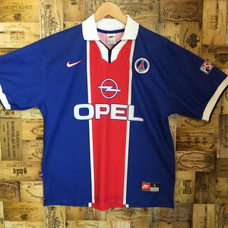 NIKE - イギリス製 ユニホーム ゲームシャツ ナイキ パリサンジェルマン サッカー