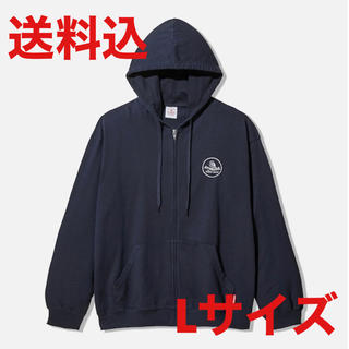 サンダイメジェイソウルブラザーズ(三代目 J Soul Brothers)のgu studio seven sweat zip parka navy L(パーカー)