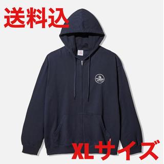 サンダイメジェイソウルブラザーズ(三代目 J Soul Brothers)のgu studio seven sweat zip parka navy XL(パーカー)