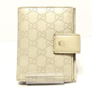 グッチ(Gucci)のグッチ 手帳 シマライン 115240 アイボリー(その他)