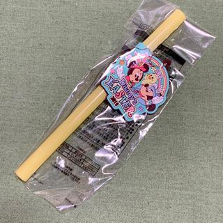 ディズニー(Disney)の697♡ラバーキーホルダー付きストロー(キーホルダー)