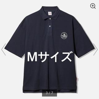 ジーユー(GU)のスタジオセブン GU ポロシャツ ネイビー(ポロシャツ)