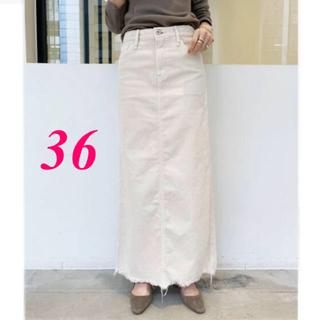 アパルトモンドゥーズィエムクラス(L'Appartement DEUXIEME CLASSE)の新品タグ付き♡UPPER HIGHTS Corduroy Long スカート36(ロングスカート)