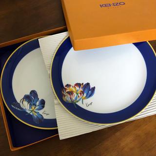 ケンゾー(KENZO)のKENZO 大皿2枚組 「新品未使用」(食器)