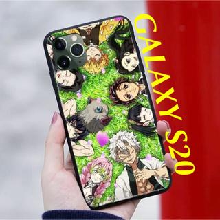 ギャラクシー(Galaxy)の〖新品〗鬼滅の刃 GALAXY S20 スマホケース《柱&4人&カナヲ》✦草原(Androidケース)