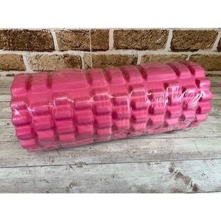 フォーム ローラー ストレッチ ヨガ ポール トレーニング 筋膜 ピンク