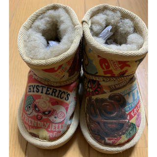 ヒステリックミニ(HYSTERIC MINI)のブーツ13cm(ブーツ)