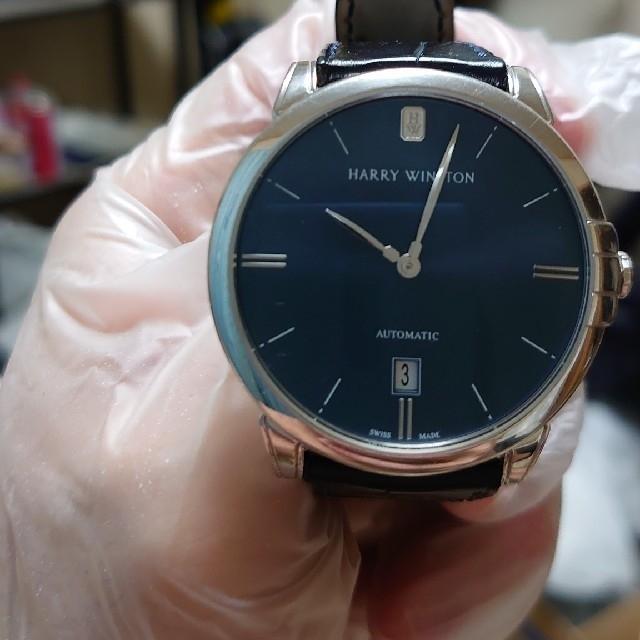 HARRY WINSTON(ハリーウィンストン)の希少激レア極美品⤴️ ハリー ウィンストン  ミッドナイト39 時計 メンズの時計(腕時計(アナログ))の商品写真