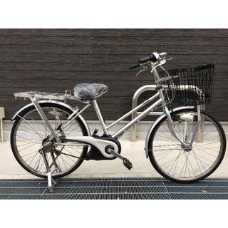 パナソニック(Panasonic)の地域限定 ビジネスビビ バッテリー新品 業務用 26インチ 神戸市 電動自転車(自転車本体)