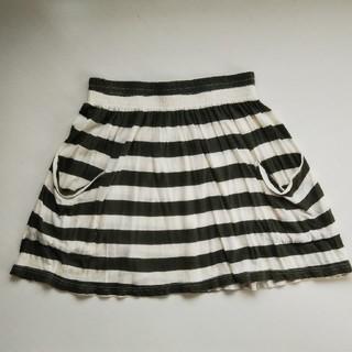 フォーエバートゥエンティーワン(FOREVER 21)のミニスカート ゴムスカート I LOVE H81(ミニスカート)
