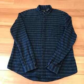 リーバイス(Levi's)のMADE & CRAFTED LEVIS 3 ボーダーシャツ 青系(シャツ)