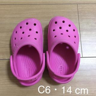 クロックス(crocs)のクロックス  サンダル C6 14cm(サンダル)