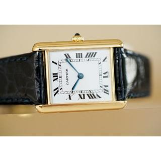 Cartier - 美品 タンク ルイ カルティエ 18KYG 無垢 LM Cartier