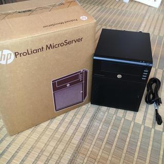 ヒューレットパッカード(HP)のhp ProLiant MicroServer(デスクトップ型PC)