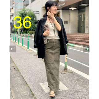 L'Appartement DEUXIEME CLASSE - UPPER HIGHTS/アッパーハイツ Corduroy Long スカート