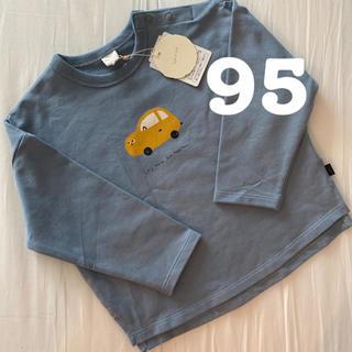 futafuta - 新品 テータテート teteatete くるま 車柄 Tシャツ 95